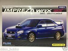 Fujimi 039404 ID-103 1/24 JDM Subaru Impreza WRX STi V-Limited GDB BBS Model Kit
