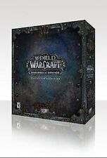 WoW : Warlords of Draenor  Collector's Edition (Windows/Mac, 2014)