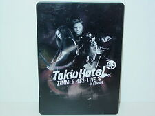 "**DVD-TOKIO HOTEL""ZIMMER 483-LIVE-IN EUROPE""-2006 Universal Lim.Edit Steelbox**"