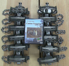 (12 pack) Minnesota Brand MB 550-RC Fox & Coyote Trap 2-Coiled OS Free DVD INCLD