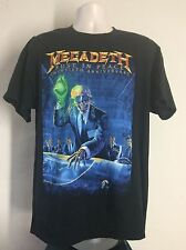 2010 Megadeth Rust In Peace 20th Anniversary Concert T-Shirt XL Heavy Metal Band