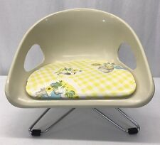 Vintage Cosco MINIATURE CHAIR Eames Era Child's Booster Seat