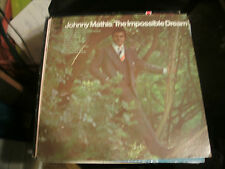 JOHNNY MATHIS- THE IMPOSSIBLE DREAM -  ON RECORD