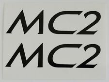 Klein MC2 ~ Klein Adroit MC2 ~ MC2 Decals ~ MC2 Black Decal Set