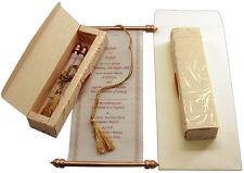 scroll wedding invitation, wedding scrolls,S389