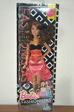 2016 FASHIONISTAS Playline CRAZY FOR CORAL PETITE Barbie - NEW RELEASE