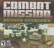 COMBAT MISSION BEYOND OVERLORD Tank PC Game NEW WinXP-7