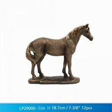 Bronze effect resin Standing Horse Ornament LP29000 - New