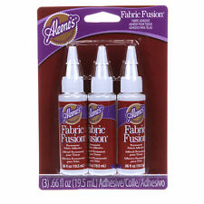 Aleene's Fabric Fusion Glue, 3-Pack Permanent Fabric Adhesive