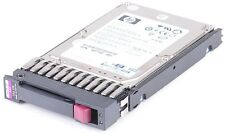 "HP 146 gb 10k sas dual Port 6g 2.5"" hot swap disco duro 507283-001"