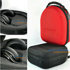 Red Black Hard Case Pouch Big Storage For Pro Mixr Executive Detox Headphones
