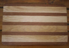 Vintage OAK Cedar Redwood Butcher Block Wood Kitchen Cutting Board 9.75 x 15.25