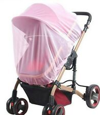 pink Insect fly Cover Mosquito net sun dust protect mesh for Pram Stroller J25