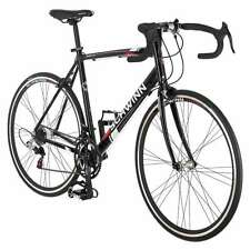 56 cm mens road bike bicycle  schwinn black entry level 700c shimano
