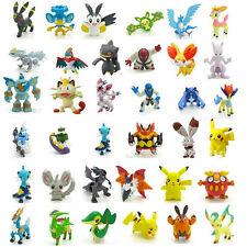 Lot Of 2 PCS Random Pokemon Monster Action Figure Multicolor Toys Gift US SELLER