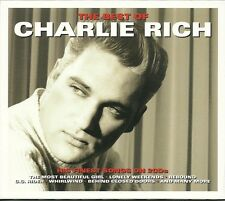 THE BEST OF CHARLIE RICH - 2 CD BOX SET - REBOUND, WHIRLWIND & MORE