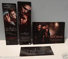 TWILIGHT MOVIE SOUNDTRACK PROMO LOT OF NEW MOON POSTCARD STICKER BOOKMARKS