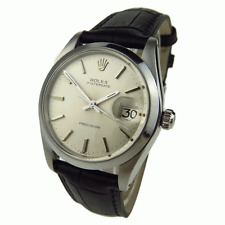 ROLEX OYSTERDATE PRECISION STAINLESS STEEL HAND-WIND MECHANICAL WRISTWATCH 6694