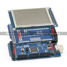 "SainSmart Mega2560 + 3.2"" TFT Touch LCD with SD Reader + TFT Shield for Arduino"