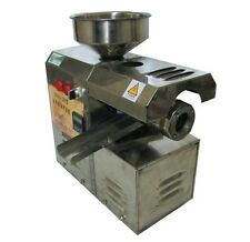 Brand New Automatic Cold Oil Screw Press Seed Press Machine Shipped By Sea