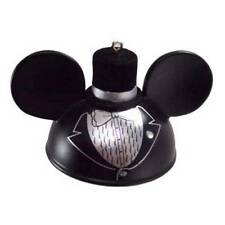 DISNEY 2013 GROOM MICKEY ICON EARS ORNAMENT NEW WITH TAG