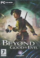 BEYOND GOOD & and EVIL - Ubisoft Adventure PC Game - BRAND NEW!
