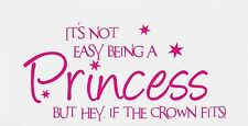 princess tinkerbell fairy girls girly vinyl car sticker wall art laptop fun pink