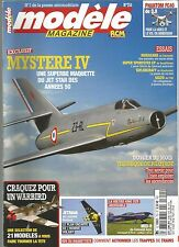 MODELE MAG N°751 PLAN : JETMAN / MXS-R / TECHNIQUE DE PILOTAGE / MYSTERE IV