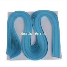 120 Strips Quilling Paper,Single Color Package-Blue Width 5mm Length 54cm