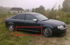 AUDI A6 C5 S6 S-LINE LOOK SIDE BLADES / DOOR BLADES / DOOR BAR NEW 4PCS