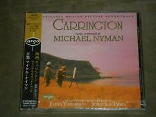 Carrington Soundtrack Michael Nyman Japan CD sealed