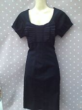 TED BAKER *ANISOP* black Oragami Dress BNWOT TB 2 UK 10
