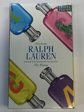 RALPH LAUREN BIG PONY COLLECTION Women's Perfume 4pc Gift Set Sealed Box