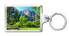 YOSEMITE NATIONAL PARK CALIFORNIA USA MOD 4 KEYRING SOUVENIR LLAVERO