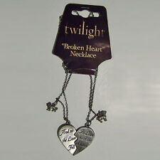 Twilight - Jewellery - Broken Heart Necklace NEW * Lion Fell In Love With Lamb