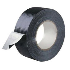 New 4.8cm*9m Waterproof Black Highly adhesive Heavy Duty Gaffer Cloth Duct Tape