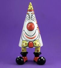 Lorna Bailey RARE COCO THE CLOWN WALK WARE SUGAR SHAKER JULY 2001 WAKEWARE