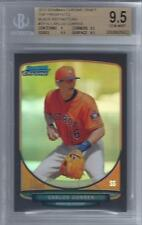 2013 Carlos Correa Bowman Chrome Black Refractor RC- BGS 9.5 Gem Mint... #21/35