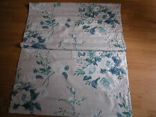 NEXT  ENGLISH POSY TEAL PRINT ROMAN BLIND + FIXTURES & FITTING 120 X 120CM
