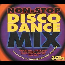 Non Stop Disco Dance Mix [1997] [Box] by Countdown Mix Masters (3 CDs) EXCELLENT