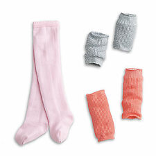 "American Girl LE ISABELLE SET LEGWARMERS SET 3 PC W/ TIGHTS for 18"" Doll in Bag*"