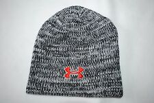 New Under Armour UA Men's Knit Beanie Gray Melange Cap Hat Japan One Size