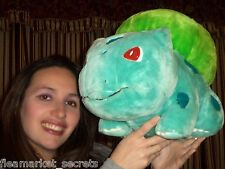 "Pokemon Plush Bulbasaur DX Big 15"" Play By Play stuffed doll figure Toy NINTENDO"