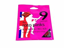 RotoSound Roto Pinks Nickel Steel Electric Guitar Strings Super Light 9-42