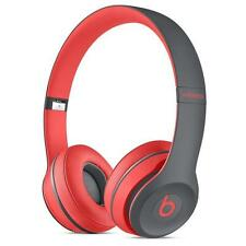 *NEW* Beats by Dr. Dre Solo 2 Wireless Headband Wireless Headphones Siren Red