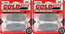 YAMAHA XJ 900 S DIVERSION XJ900   SINTERED FRONT BRAKE PADS (2 pair) *GOLDFREN*