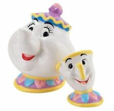 Disney Beauty and the Beast Mrs. Potts and Chip Magnetic Salt & Pepper Shakers