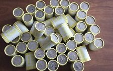 1 Roll of Bank Wrapped Kennedy Half Dollars. Possible Silver! Unsearched!