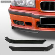 BMW E36 M Sport M3 GT Front Bumper Chin Spoiler Lip Sport Valance Splitter abs