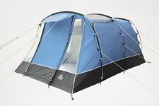 NEW Sunncamp Opus 500 Blue Tent 5 Person Man Berth Family Camping FREE P&P